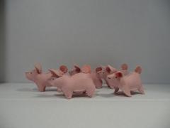 Piglet family