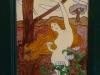 Art Nouveau bookcase detail 1