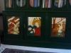 Art Nouveau bookcase detail 2