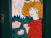 Art Nouveau bookcase detail 3