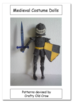 Knitted Medieval Dolls