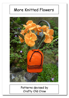 More Knitted Flowers