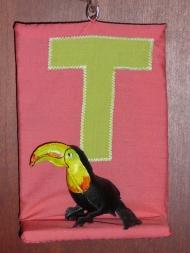 """Door initial """"T"""""""