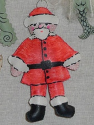 Father Christmas decoration