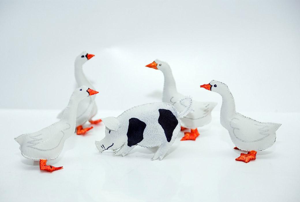 Geese & Pigs