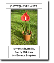 Knitted Potplants